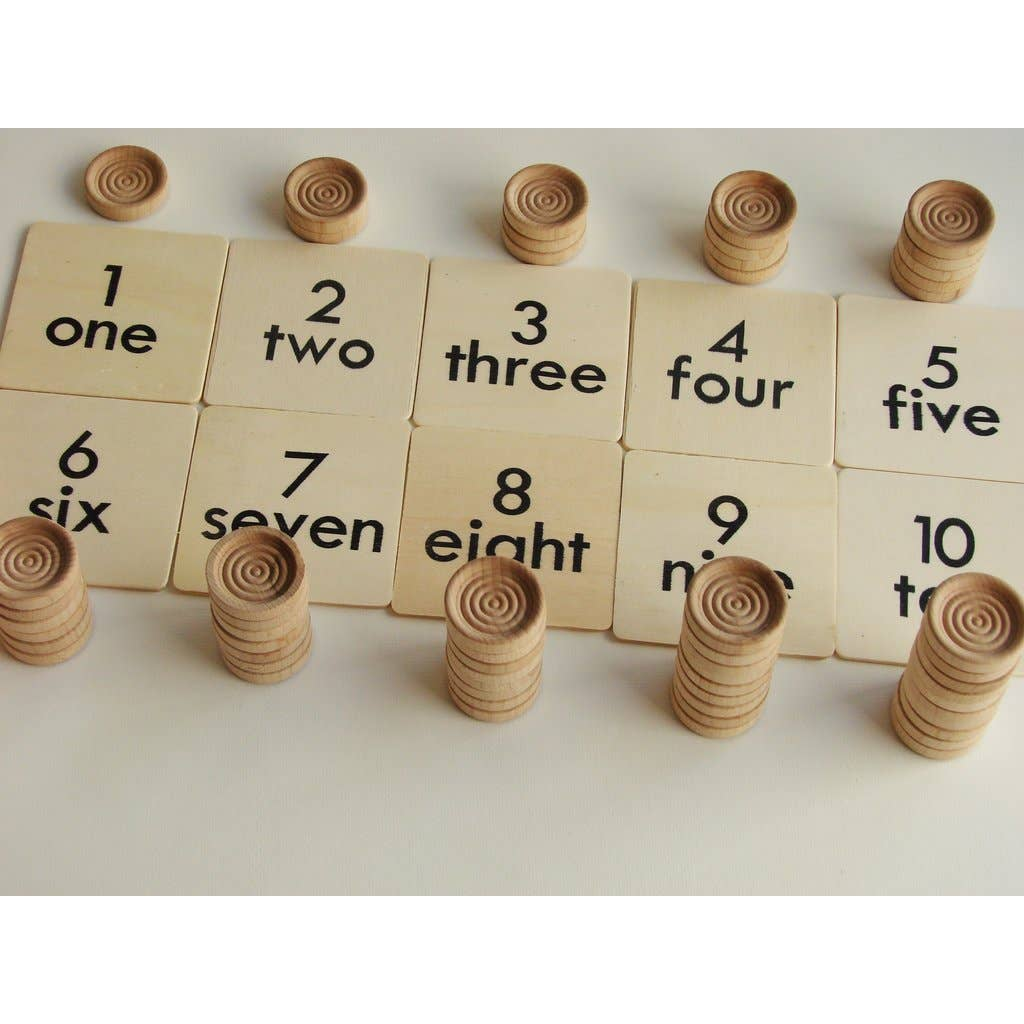 Wooden Counting Play Set