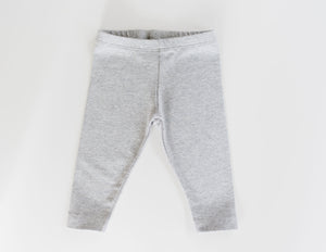 Favorite Organic Leggings - Heather Gray
