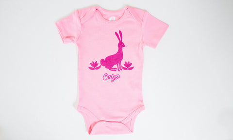 One for One Little Bunny Pink Onesie