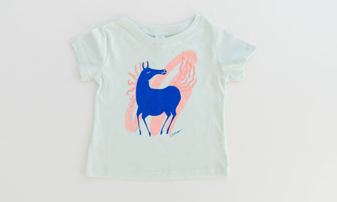 Fairytale Horse - Mint T-Shirt