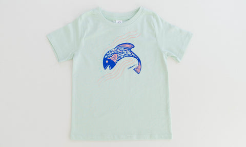 Fairytale Fish Mint T-Shirt