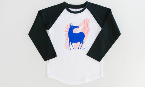One for One Fairytale Horse - Baseball Tee