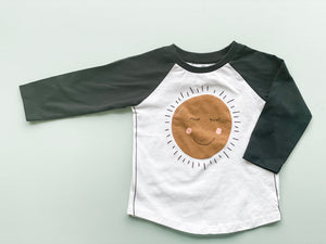 One for One Sunshine Raglan Tee