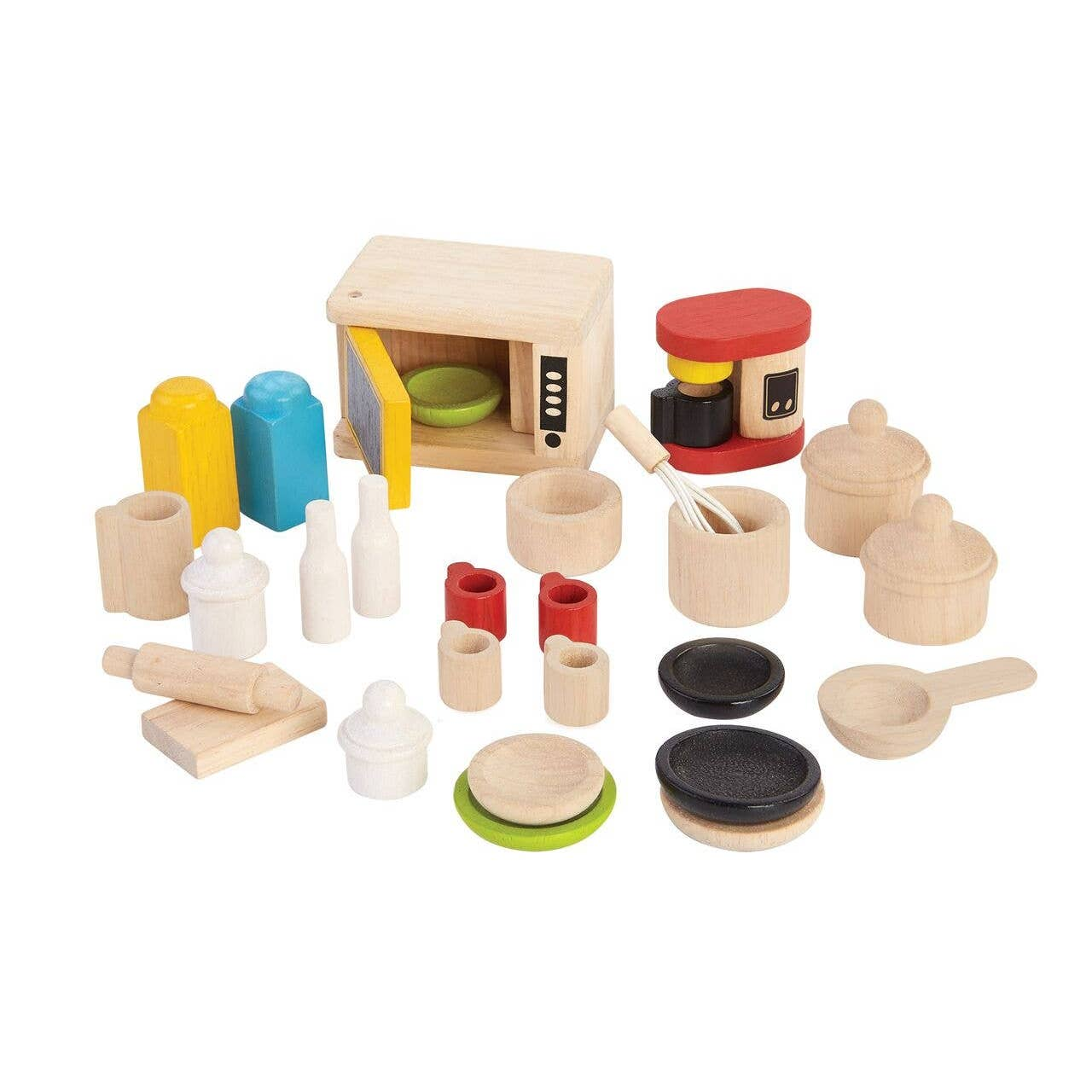 Accessory Kit for Kitchen and Table Play