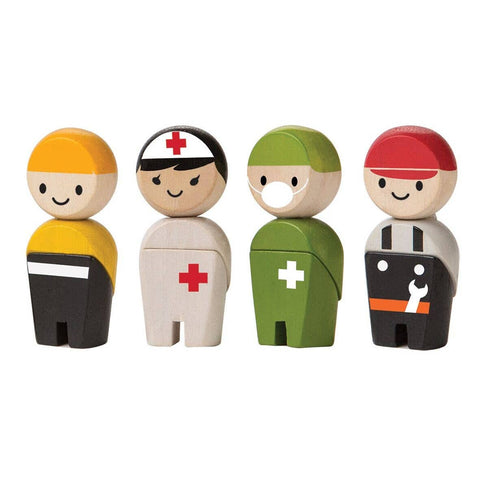Rescue Crew Toy People Set