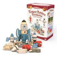 Tinker Totter Rocket Stackers  and 31 Piece Playset