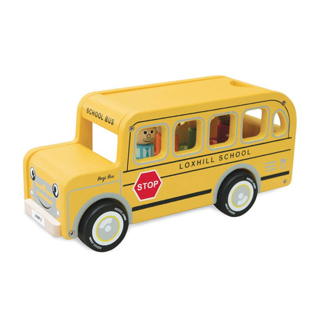 Wooden School Bus + Sorter