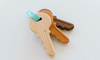 Wooden Toy Keys