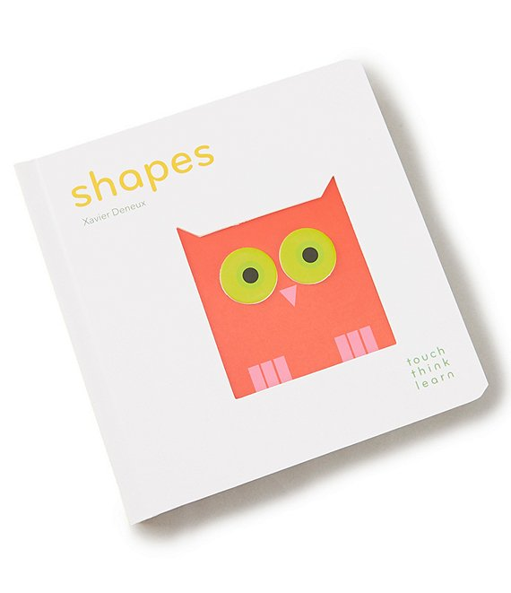 Think Touch Learn Shapes Book