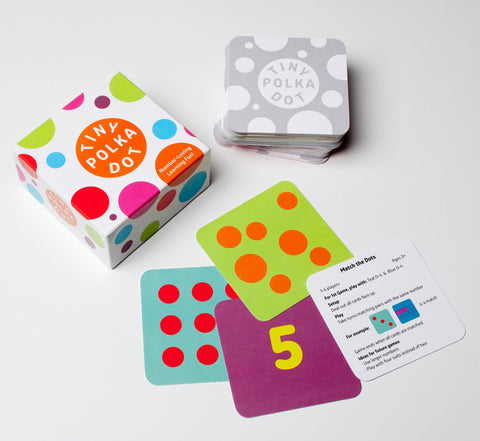 Tiny Polka Dot Math Playdeck