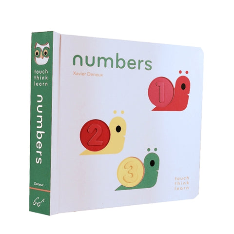 Think Touch Learn Numbers Book