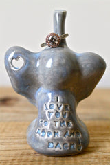 Personalized Elephant Ring Holder