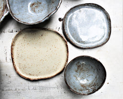 Farmhouse Stoneware Serving Set -