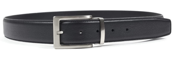 Greenwich Leather Belt - Black
