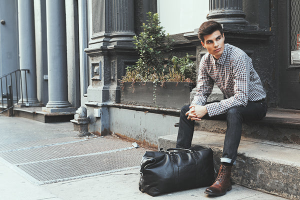 Bleecker Duffel Bag - Black