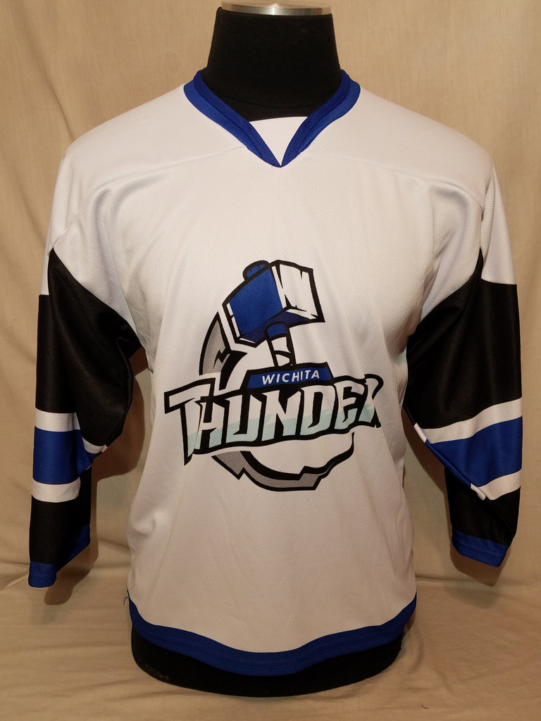 Youth Wichita Thunder White Jersey