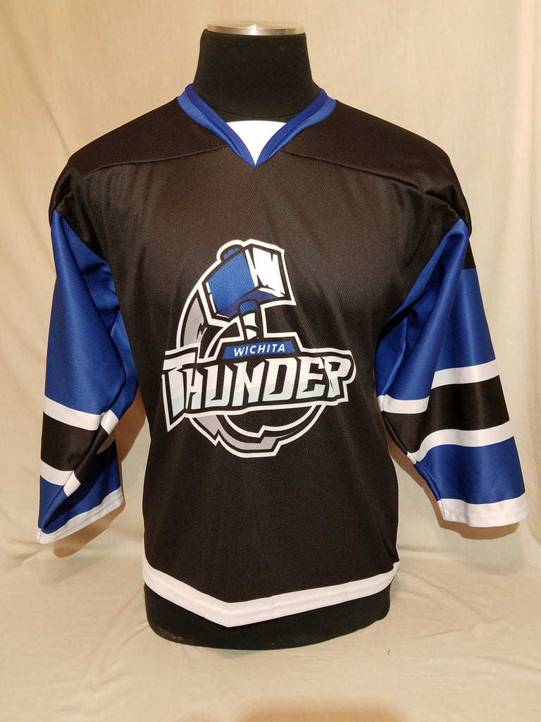 Youth Wichita Thunder Black Jersey