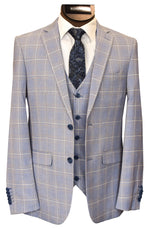 SOUL OF LONDON 3 PIECE SUIT
