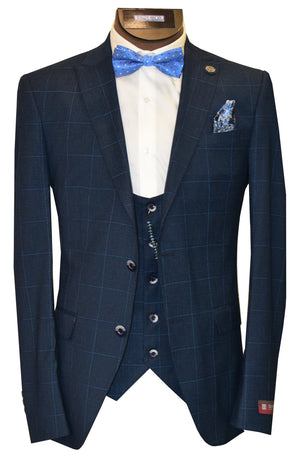 DELMONT 3 PIECE SUIT