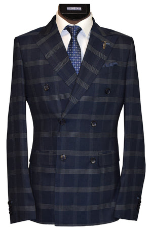 LIEF HORSENS 2 PIECE SUIT- NAVY
