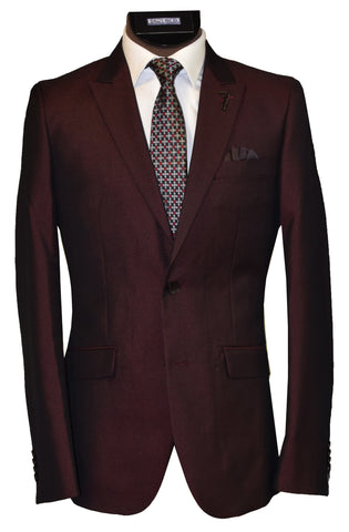 LIEF HORSENS 2 PIECE SUIT- BURGUNDY