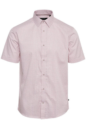 MATINIQUE TROSTOL BD SHORT SLEEVE SHIRT- FIRE RED