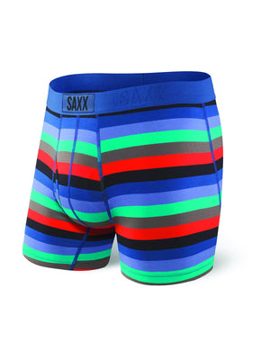 SAXX ULTRA BOXER- PURPLE CABANA STRIPE