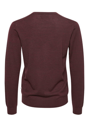 MATINIQUE- DEEP WINE PULLOVER