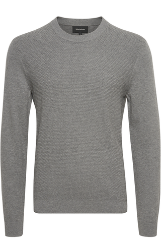 MATINIQUE- MEDIUM GREY PULLOVER