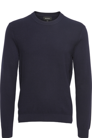 MATINIQUE- DARK NAVY PULLOVER