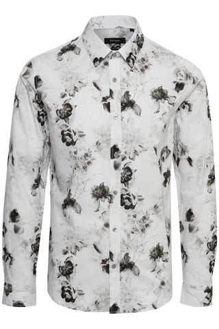 MATINIQUE ROBO PHOTO PRINT SHIRT- WHITE
