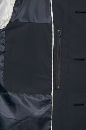 MATINIQUE MILES TRENCH COAT- NAVY
