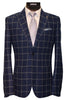 LIEF HORSENS 2 PIECE SUIT-NAVY/WHITE