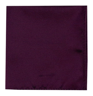POCKET SQUARE- PERSIAN PLUM