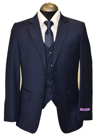 RAFFAEL 5PIECE BOY SUIT- COBALT