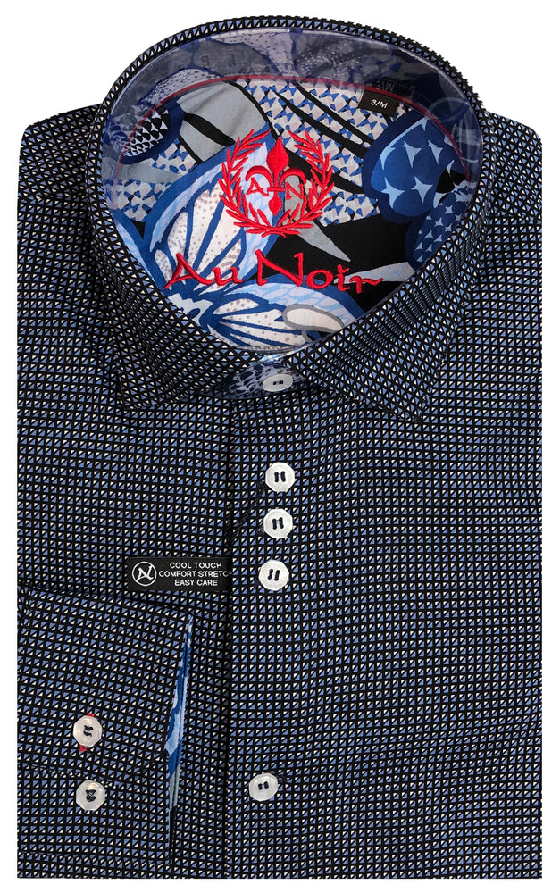 AU NOIR SHIRT- BELOTTI NAVY