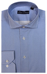 LIAM DANIEL DRESS SHIRT- BLUE DIAMOND