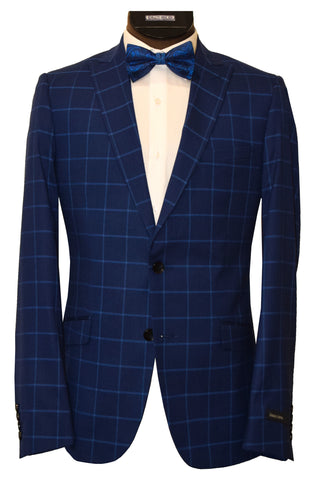 BOSCO UOMO 2 PIECE SUIT- MID BLUE