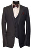 RAFFAEL UOMO 3 PIECE SUIT- CHARCOAL