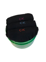 CALVIN KLEIN- 3 PAIR GIFT BOX- BLACK