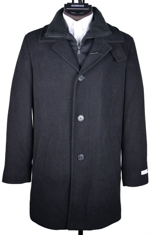 CALVIN KLEIN - BLACK  COAT