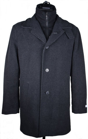 CALVIN KLEIN - CHARCOAL COAT