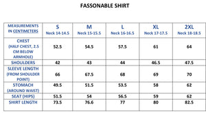 FASSONABLE LONG SLEEVE SHIRT