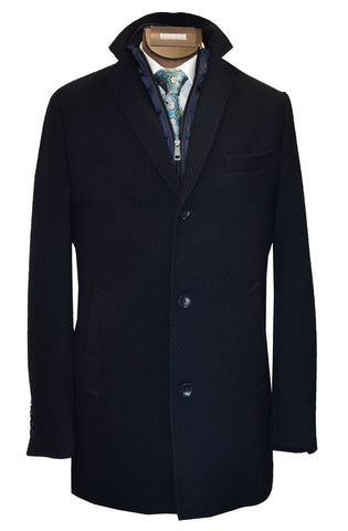 LIEF HORSENS WINTER COAT-NAVY
