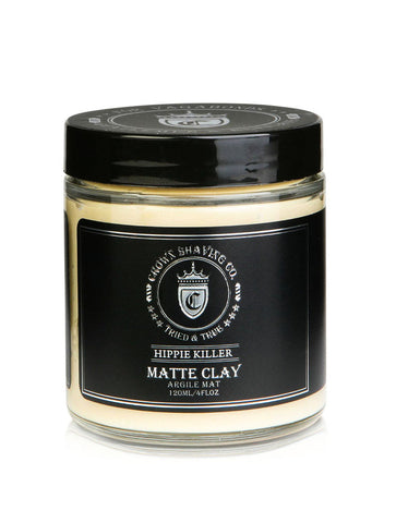 CROWN SHAVING CO.  MATTE CLAY 120ml/4 fl oz.