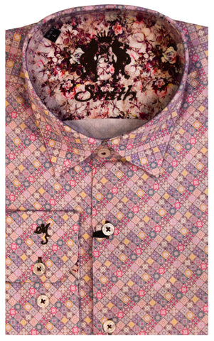 MR. SMITH SHIRT-PINK