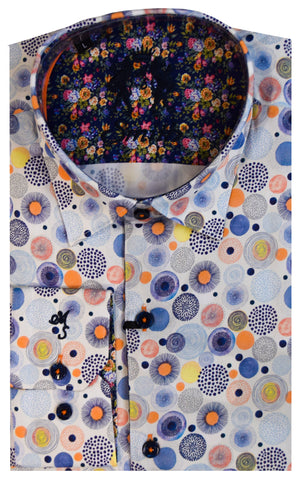 MR. SMITH SHIRT-BLUE