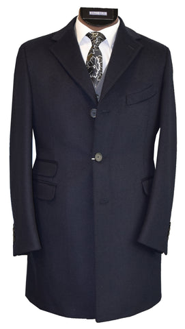 OLLIVER GREY COAT- NAVY
