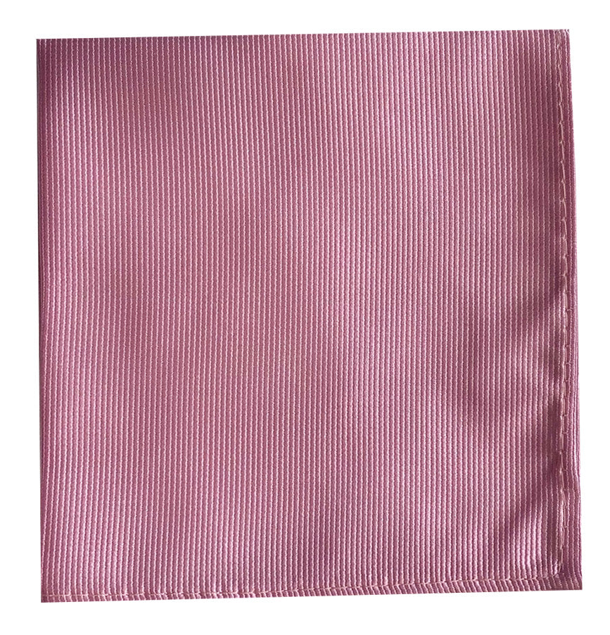 POCKET SQUARE- SUEDE ROSE