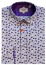 BOY SHIRT S9LHJ4011(119) PURPLE 2